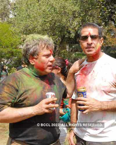Vineet Jain's Holi Party 2008 -13