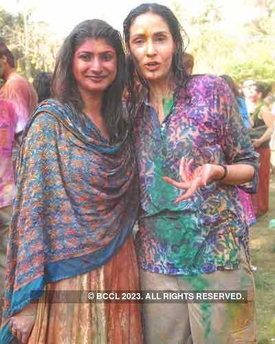 Vineet Jain's Holi Party 2008 -13