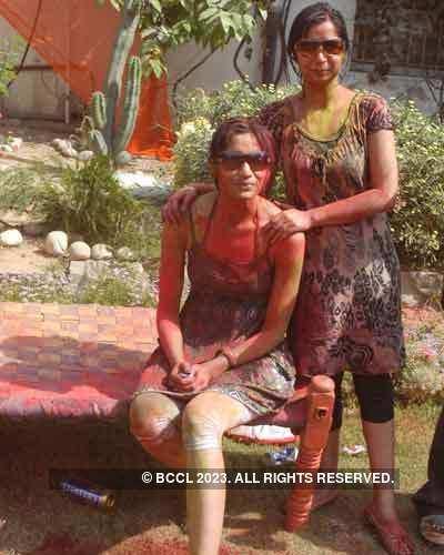 Vineet Jain's Holi Party 2008 -15