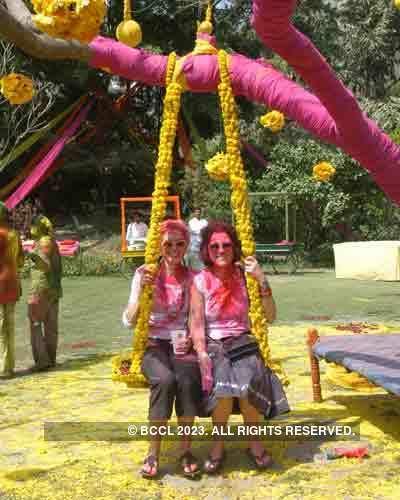Vineet Jain's Holi Party 2008 -18