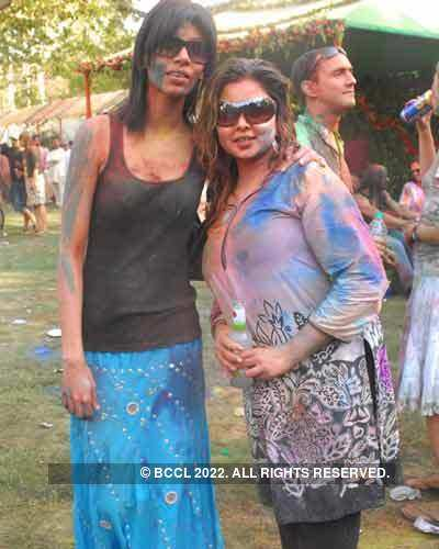 Vineet Jain's Holi Party 2008 -17