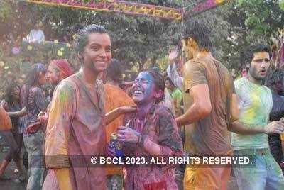 Vineet Jain's Holi Party 2008 -17