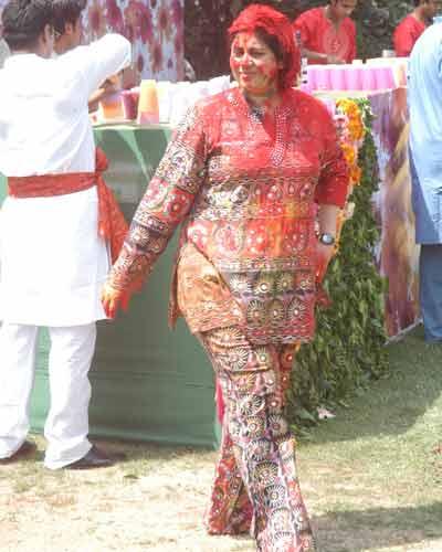 Vineet Jain's Holi Party 2008 -20