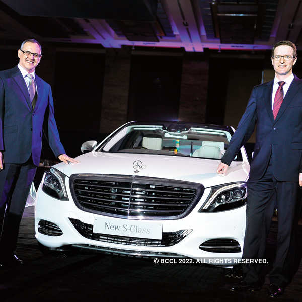 Mercedes-Benz S Class launch event