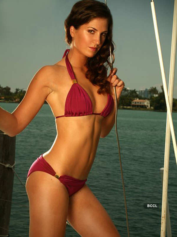 Athletes in bikini