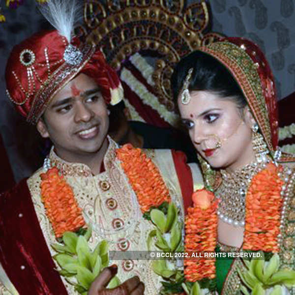 Akash and Kanika's wedding ceremony