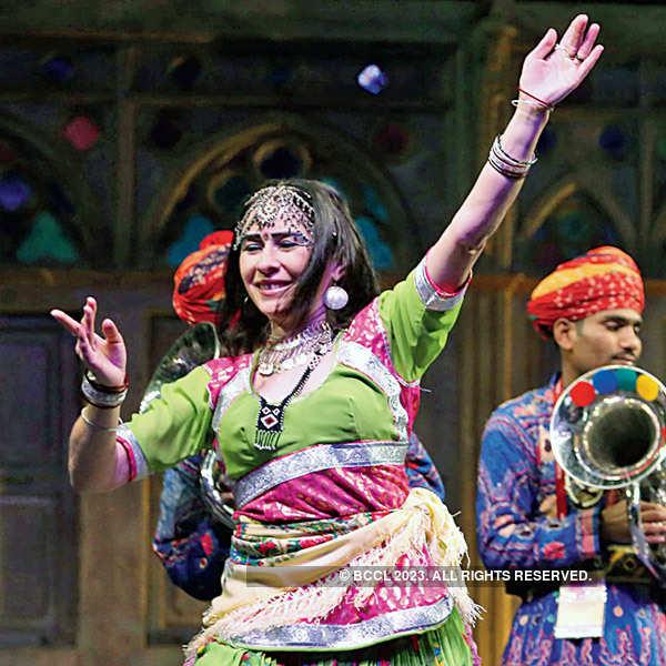 Entertaining performances @ Jaipur Literature Festival