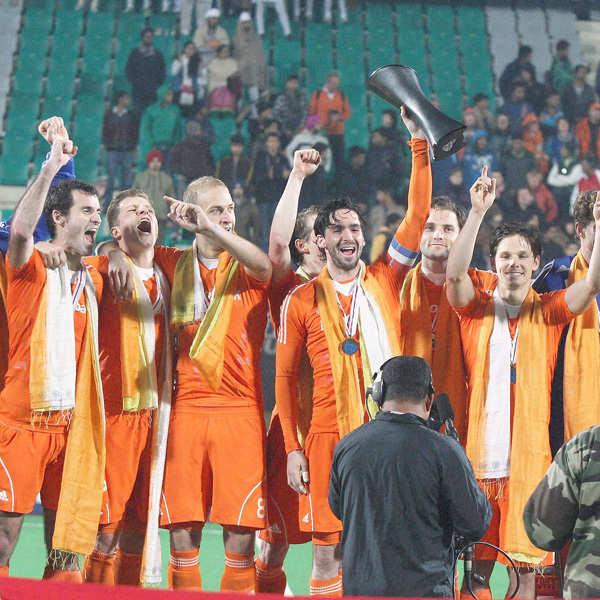 Netherlands win Hockey World League title