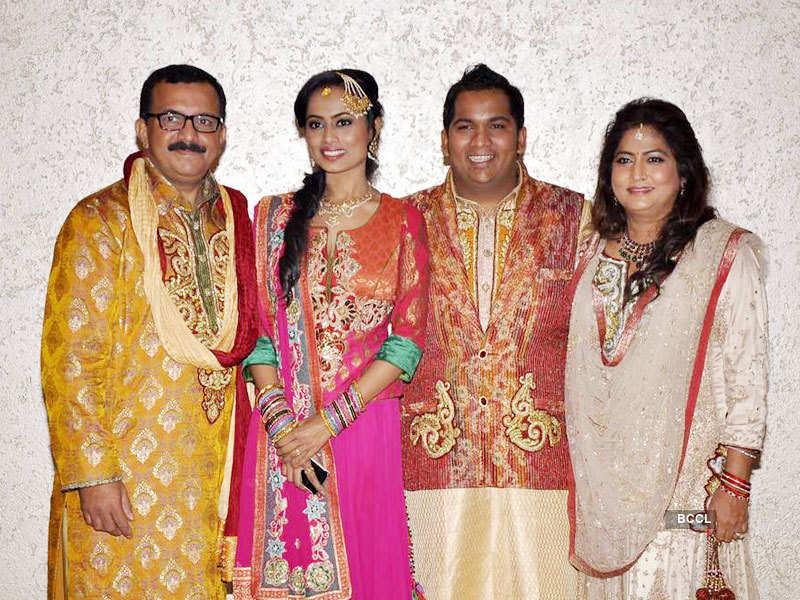 Rohan Palshektar's sangeet ceremony