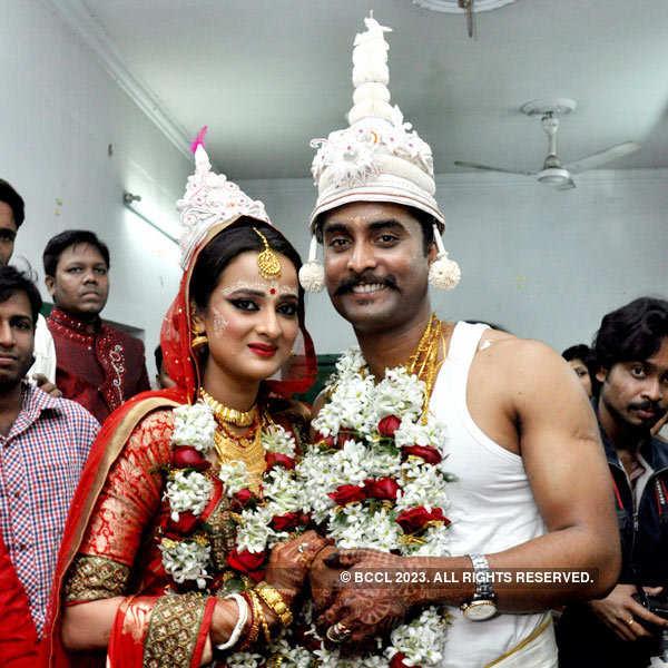 Madhabilata Mitra, Bhupesh Gupta wedding