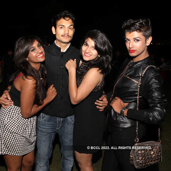 Bangalore Fashion Week party