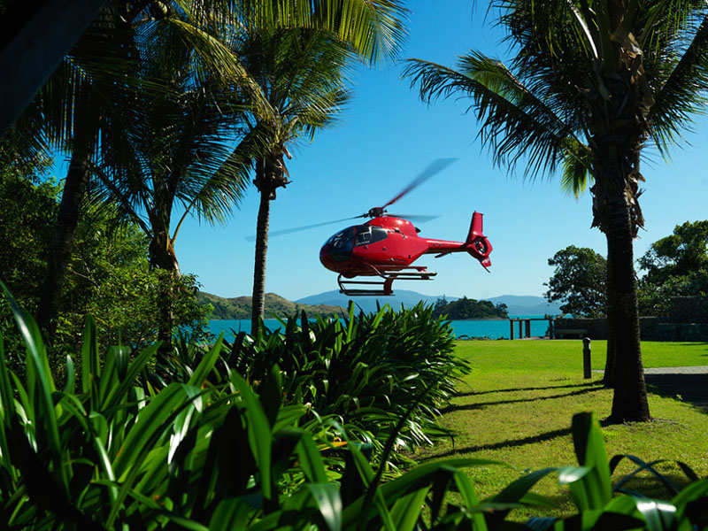 On The Great Barrier Reef Qualia Resort Australia Times