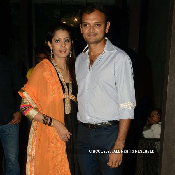 Shravanthi's post-wedding party