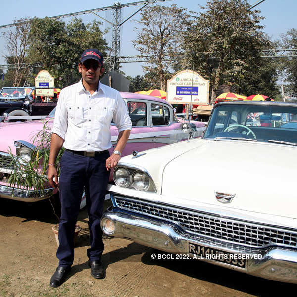 Pets, vintage cars steal the show