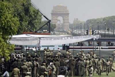 India boosts security