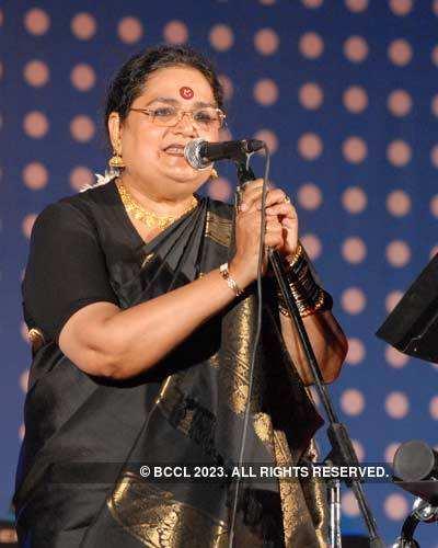 Usha Uthup's concert