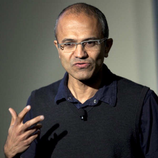 Satya Nadella named Microsoft CEO