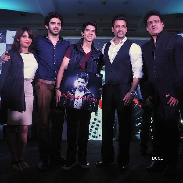 Salman launches Armaan's album