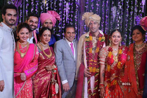 Ahana Deol-Vaibhav Vora wedding