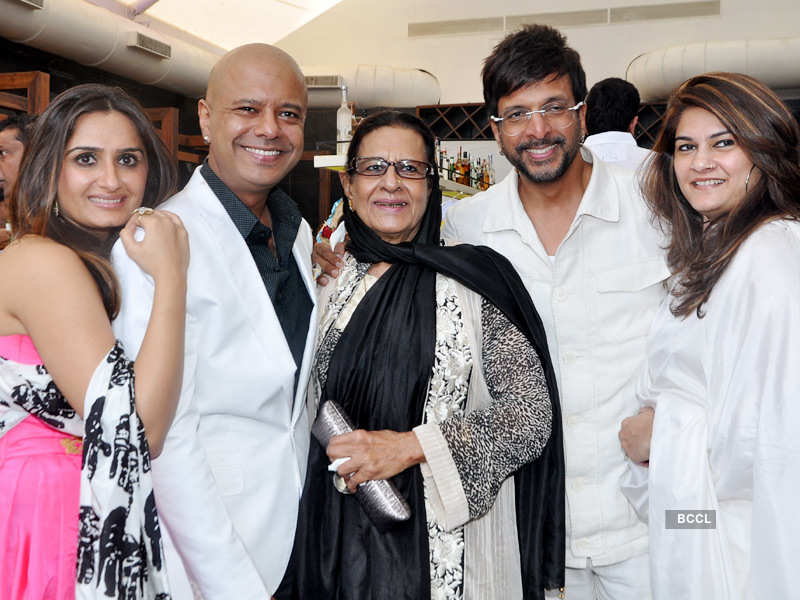 Naved Jaffrey's b'day party