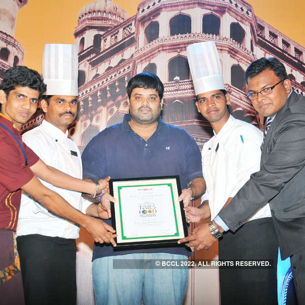 Times Food Guide Awards '14 - Hyderabad : Winners