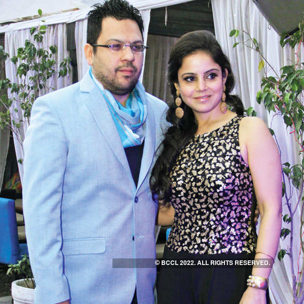 Aman Bhandari and Amit Suri's party