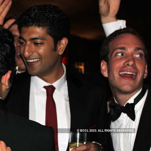 Ahana Deol & Vaibhav Vora's reception