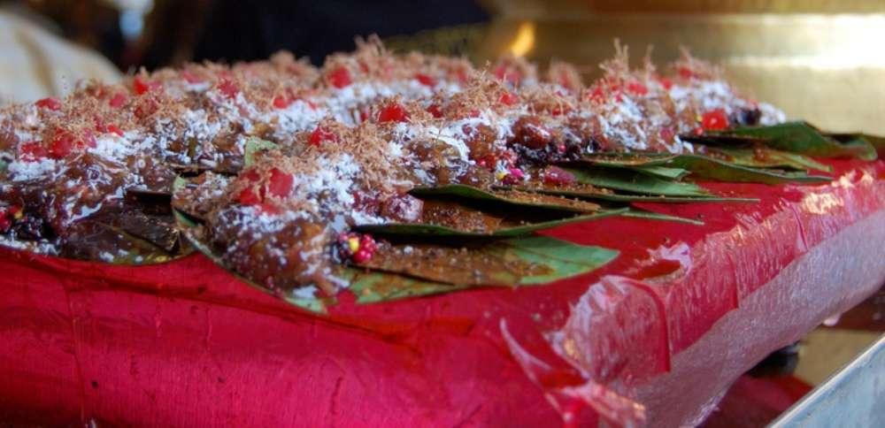 Paan from outside The Claridges Hotel