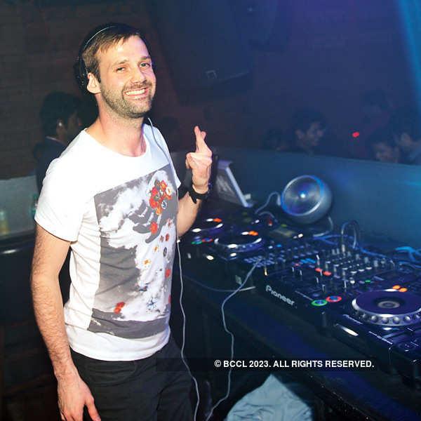 DJ Paul Thomas plays at Miami