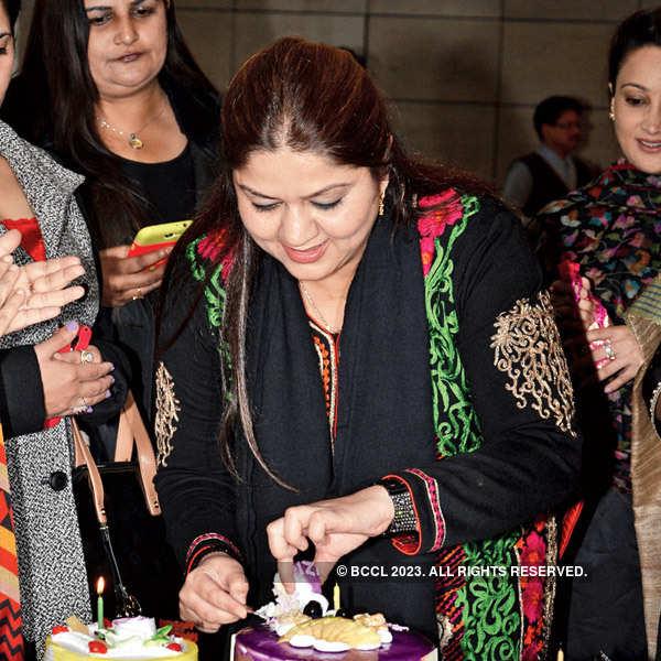 Uzma Khan's birthday party