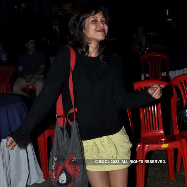 Tollywood celebs at a concert