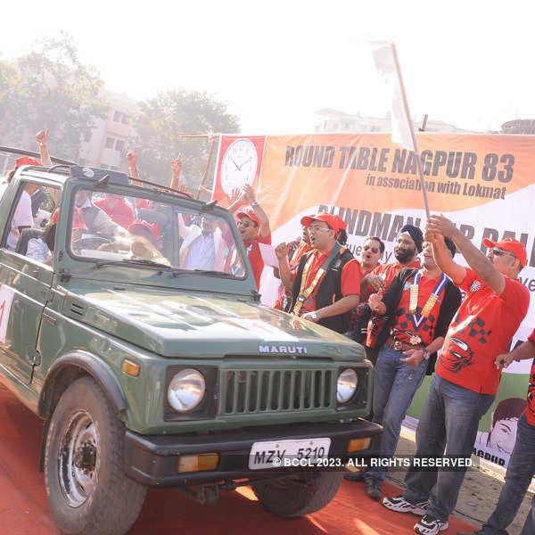 Blindman's car rally in Nagpur