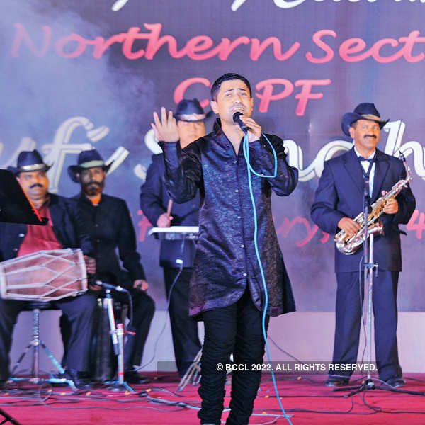 Ghazal performance @ CRPF Rising Day