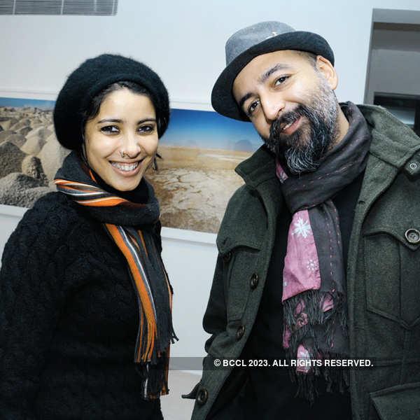 Gigi Scaria's solo exhibition