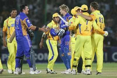 IPL: Rajasthan thrashes Chennai