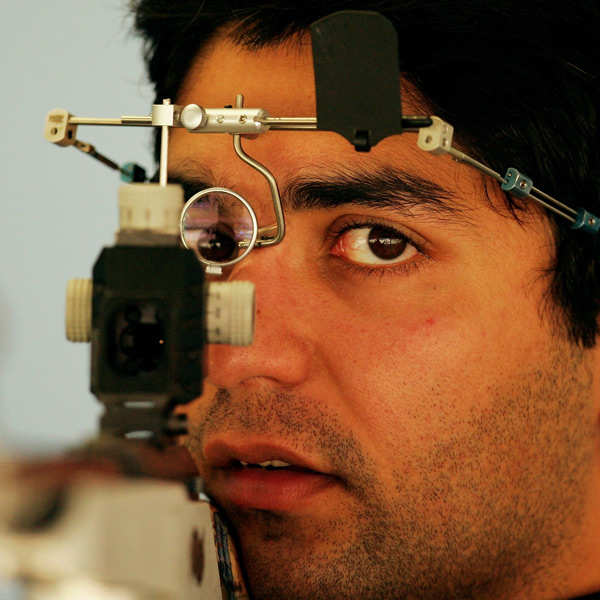 Bindra claims gold in Inter Shoot Tri series