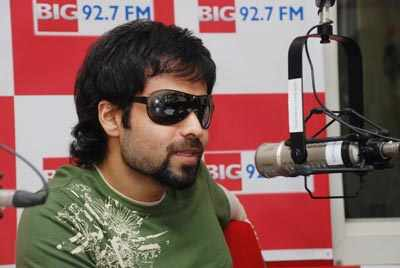 Jannat team at Radio station