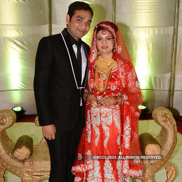Sumera and Farhan Khan's walima