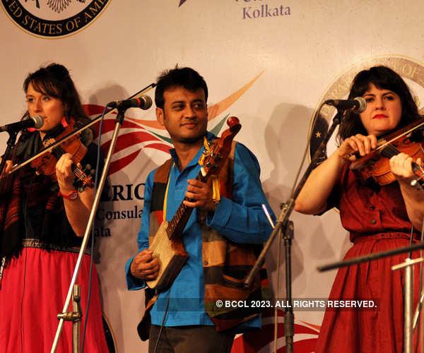 Musical performance @ American Center