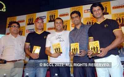 Chetan's book launch