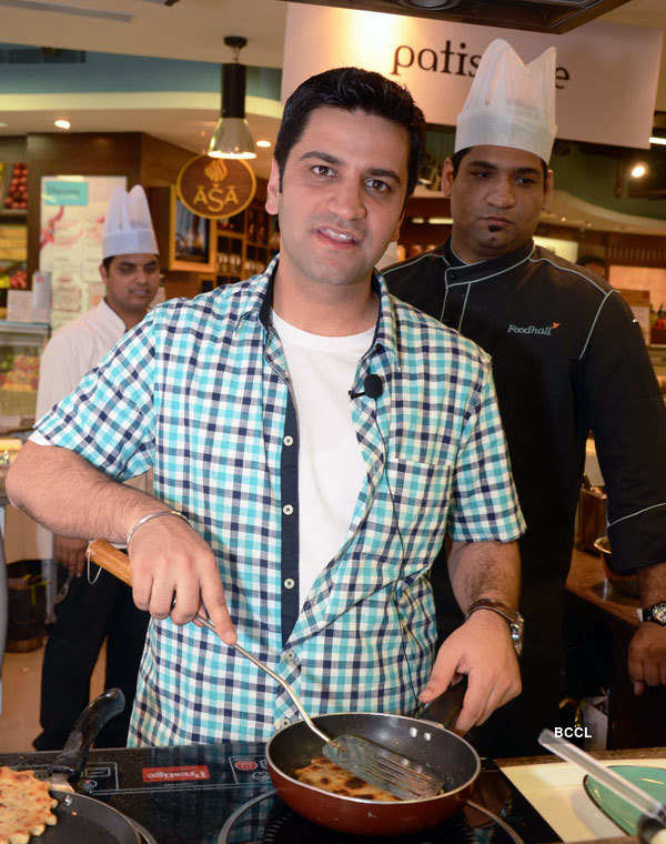 Culinary session with Chef Kunal