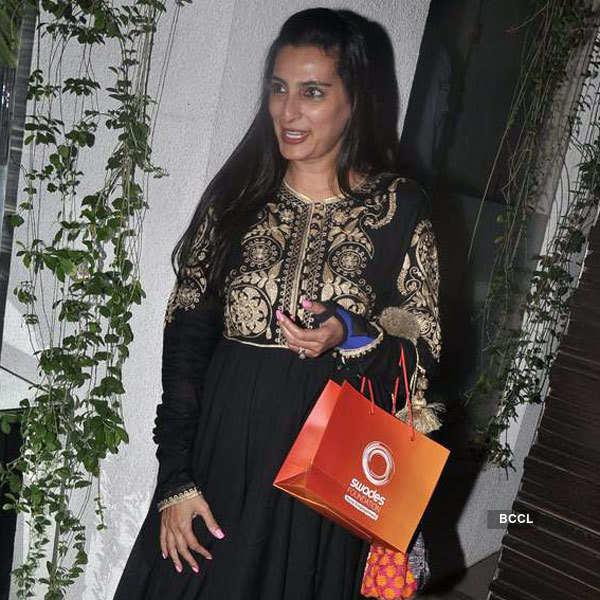 Simone Khan's birthday party