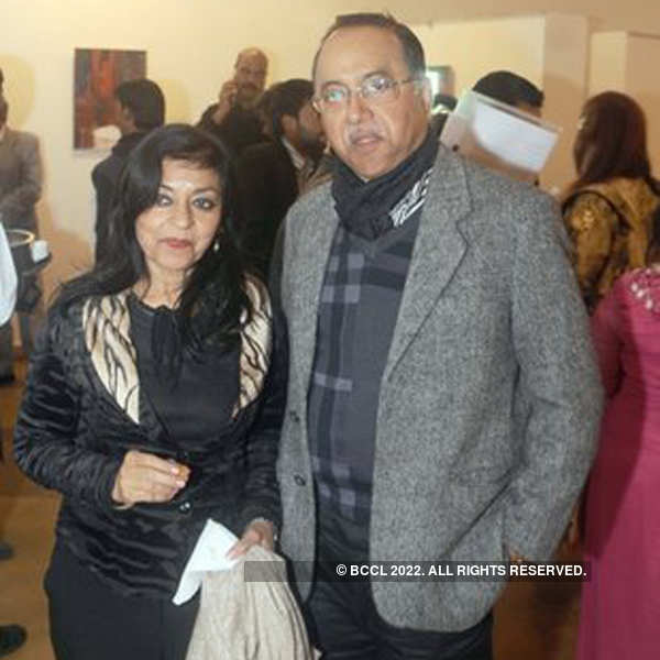 Kiran Joneja Sippy's art exhibition