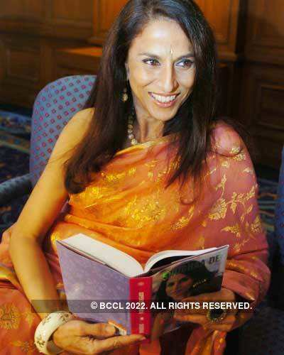 Shobhaa De's  book release