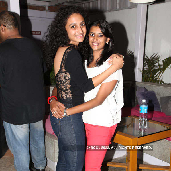 Tanvi and Suman have girls night out at Royal Orchid
