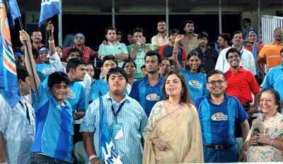 IPL: Mumbai beat Chargers