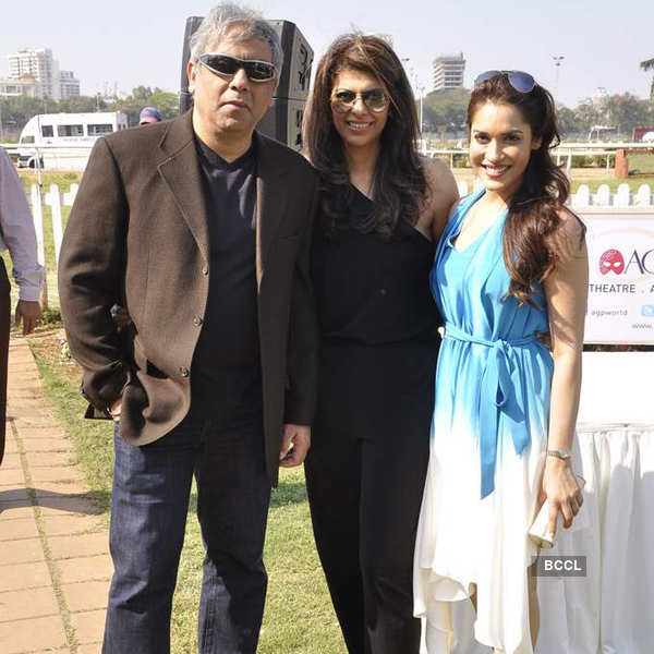 Celebs @ Provogue AGP race