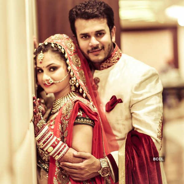 Jai Soni marries Pooja Shah