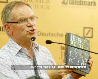 Book launch: Jeffrey Archer