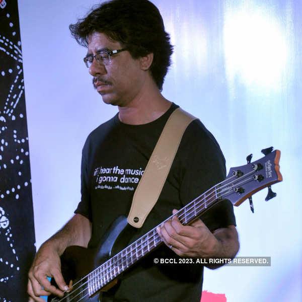 Neel Adhikari at a musical event